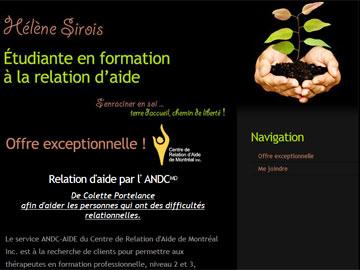 Site Web Étudiante