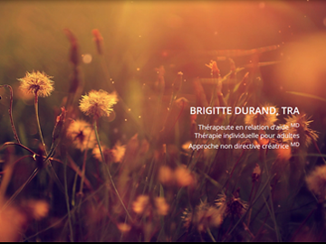 Site Web Brigitte Durand TRA